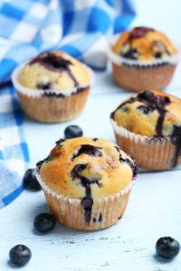 Darmfreundliche Beeren-Muffins für süße Momente