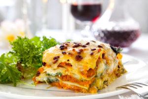 Glutenfreie Vegetarische Lasagne