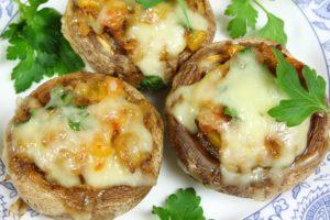 Divertikulitis Rezept Champignons mit Mozzarella