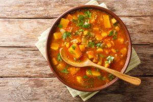 Süßkartoffeleintopf mit Linsen Vegan und glutenfrei
