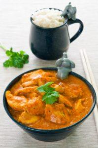 Diabetiker Hähnchen-Curry mit Aprikosen