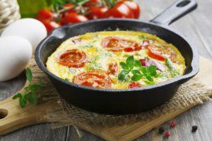 Rezept für Italienische Frittata bei Divertikulitis oder einem Reizdarm