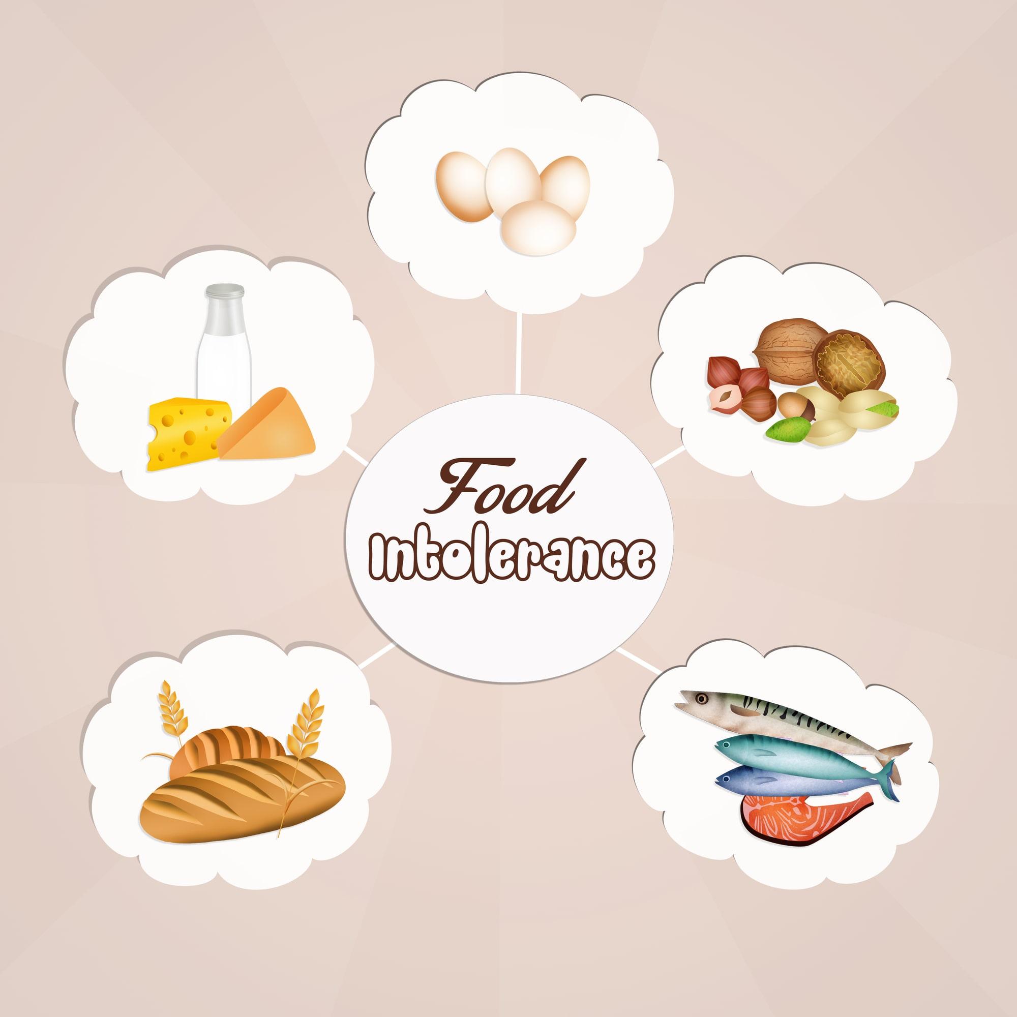 Narungsmittelunverträglichkeit und Allergie; Unverträglichkeit