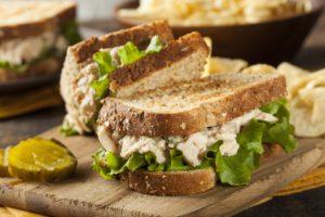 Diabetes Thunfischsandwich